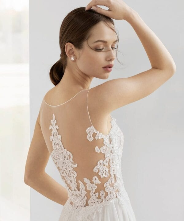 bridal gown kevay - back
