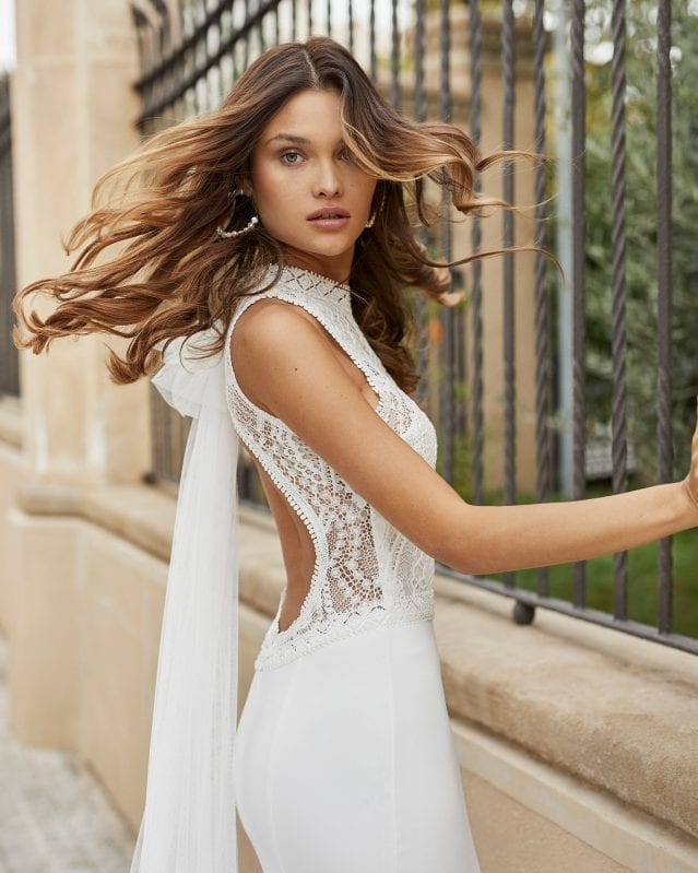 TAMESIS_ROSA_CLARA_High_Neck_Halter_Wedding_Dress_Low_Back