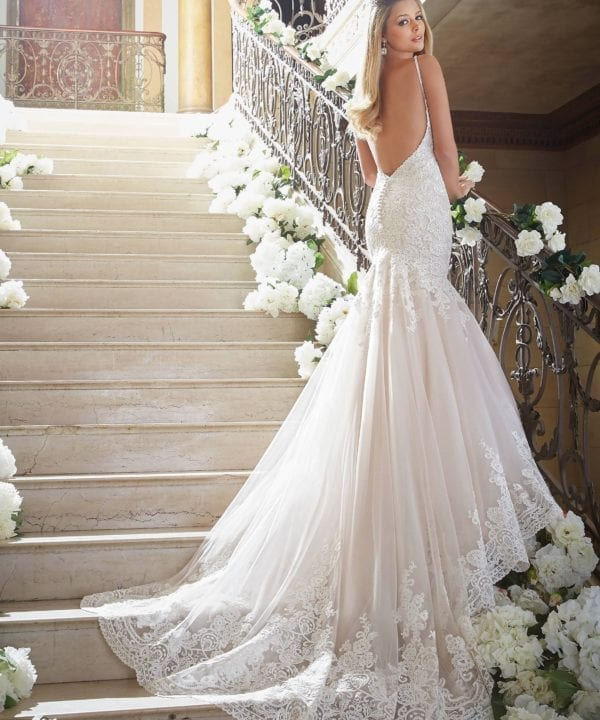 Mori Lee Madeline Gardner - bridal couture brisbane - white lily couture