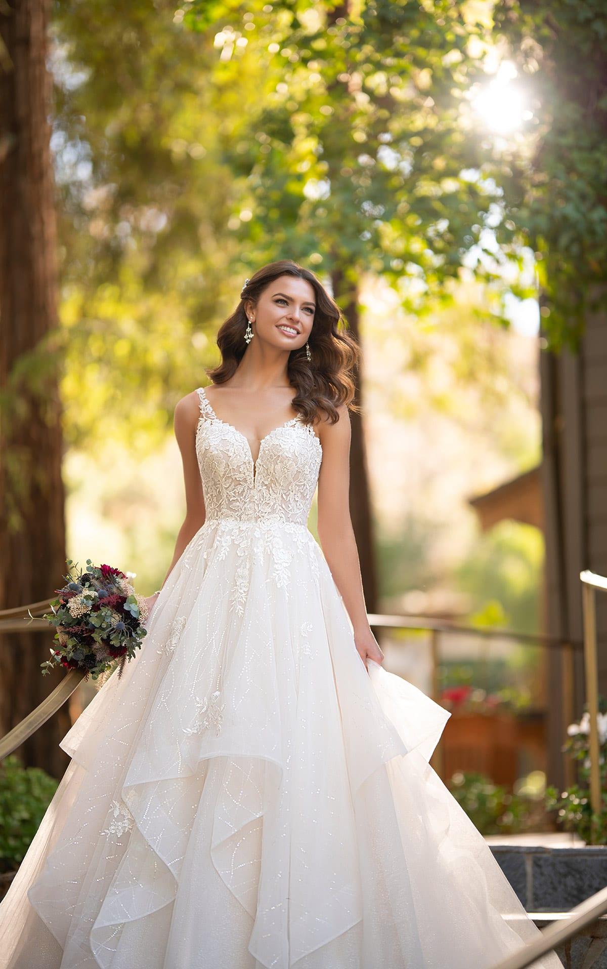 2936-Wilderly-Essense-of-Australia-Ruffle-sparkly-Ballgown-Brisbane (3)