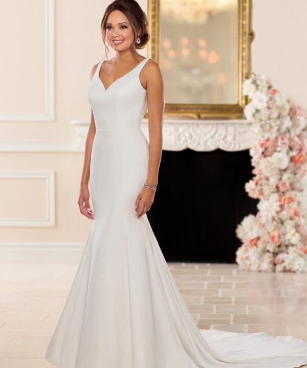 6742-Gray-Stella-York-Simple-Satin-Wedding-Dress