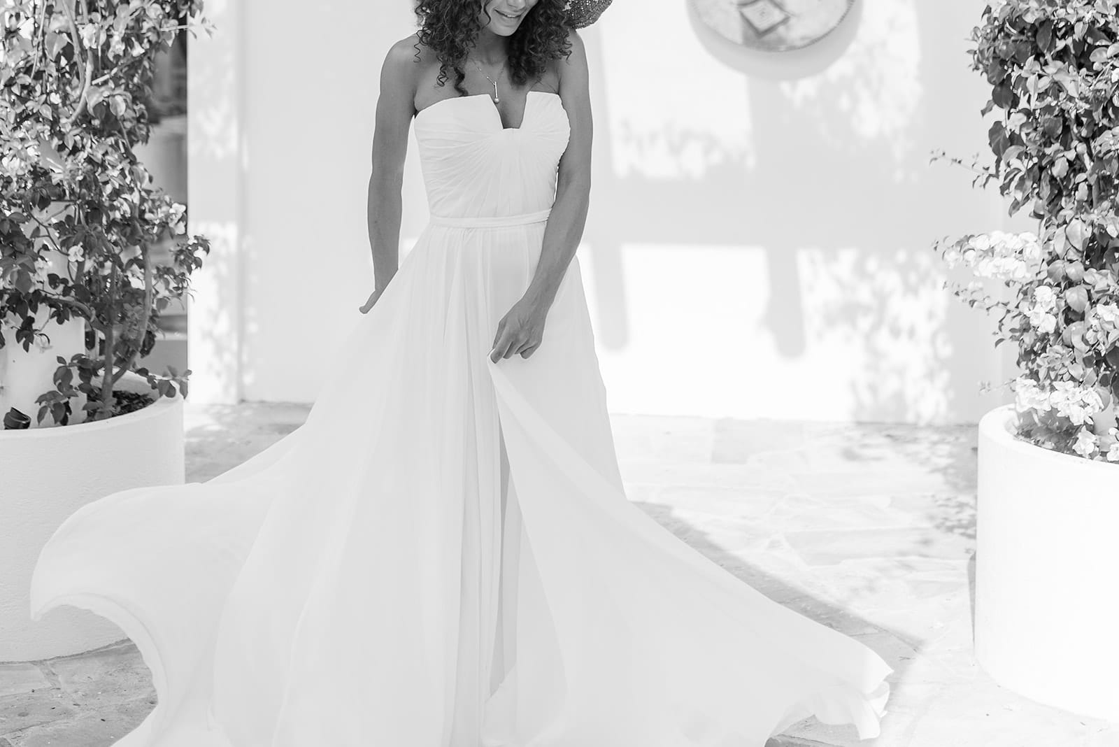 Real Bride Revolution x Mediterranean Styled Session White Lily Couture