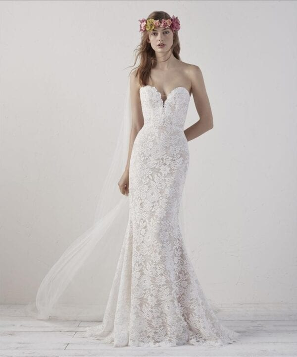 EITHEL-Pronovias-Lace-Mermaid-Wedding-Dress-Brisbane