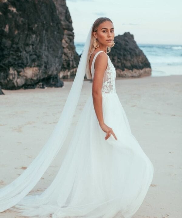 Emmy Mae Scout Tulle Bridal Gown