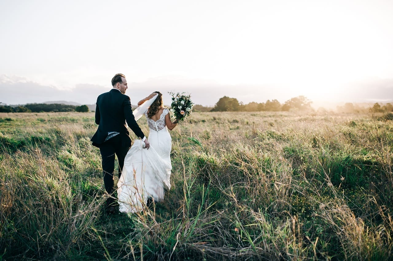 Katie & Kurt just married - Wanderer and the Wild Photography