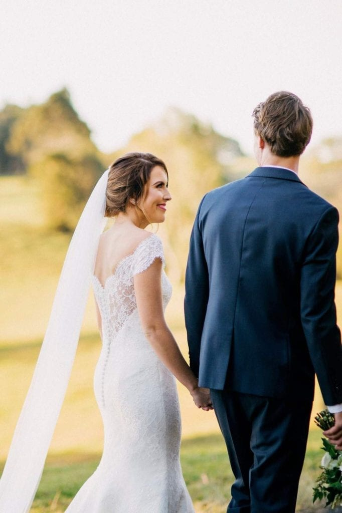 Real Bride Nicola Stuns in Skyler by Augusta Jones