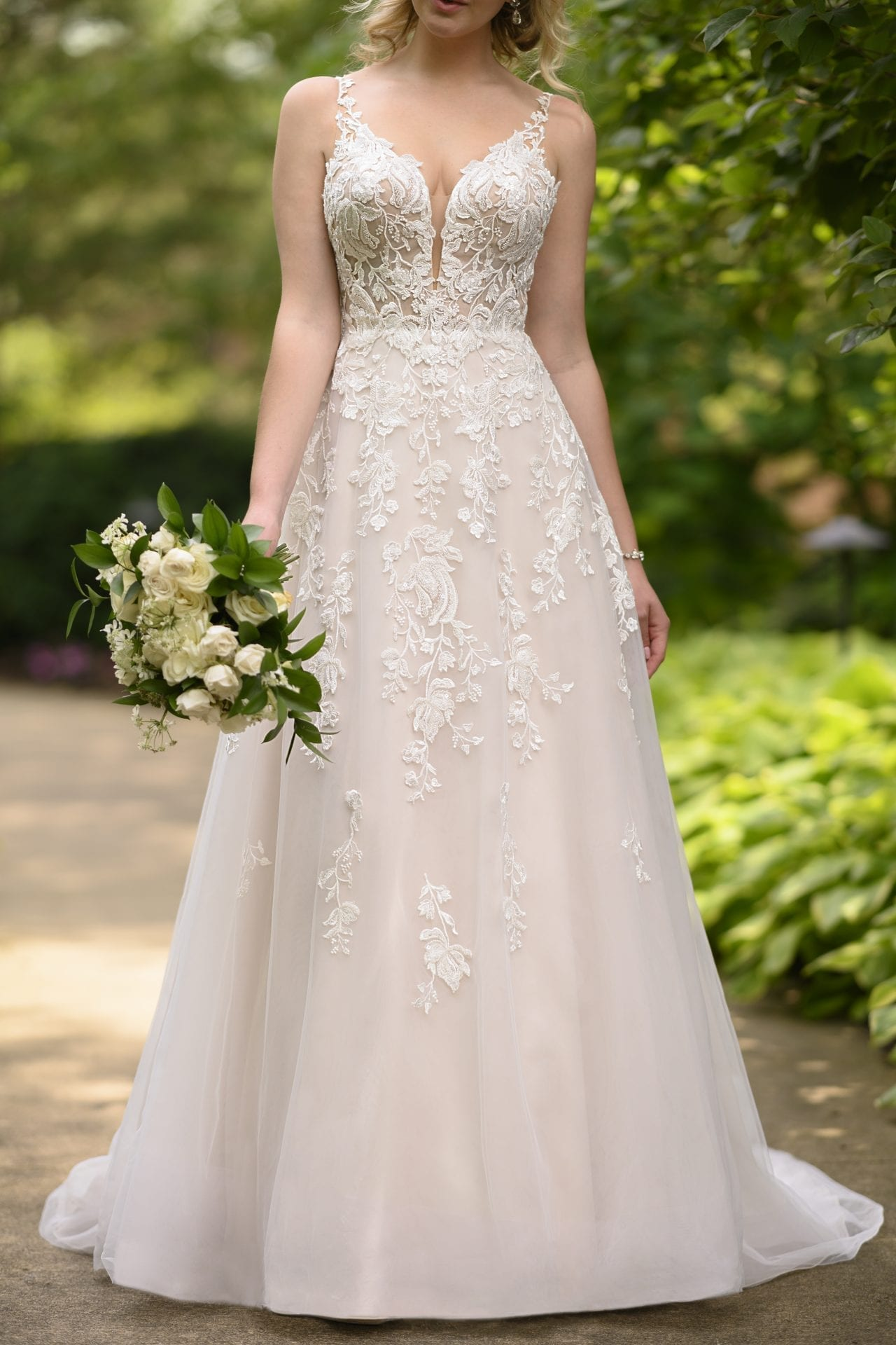 Indiana-7073-Stella-York-Tulle-Aline-Wedding-Dress-Straps