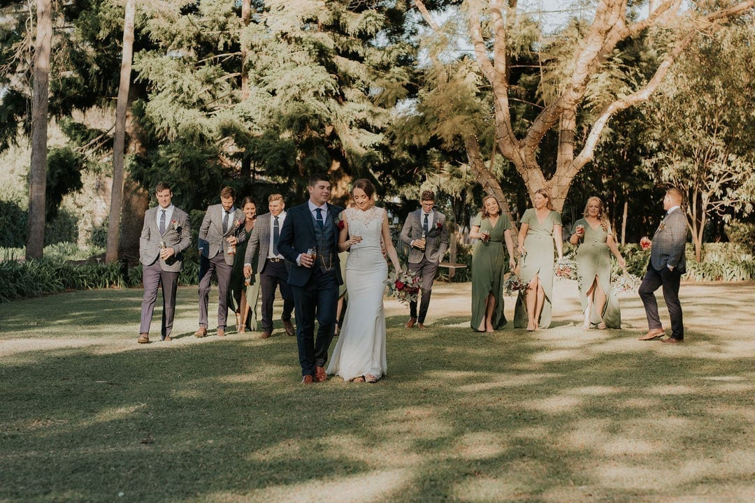 A luxe Toowoomba wedding