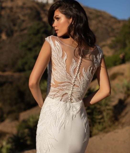 LADD-Pronovias-Crepe-Wedding-Dress-Ornate-Beaded-Bodice