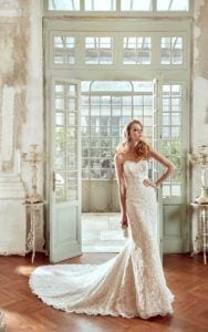Wedding dress train - White Lily Couture