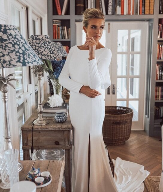 Phoebe_Erin_Clare_Long_Sleeve_Crepe_Gown (3)
