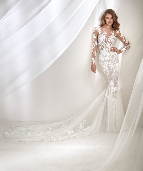 ROCIO-Pronovias-Atelier-Luxury-Long-Sleeve-Wedding-Gown