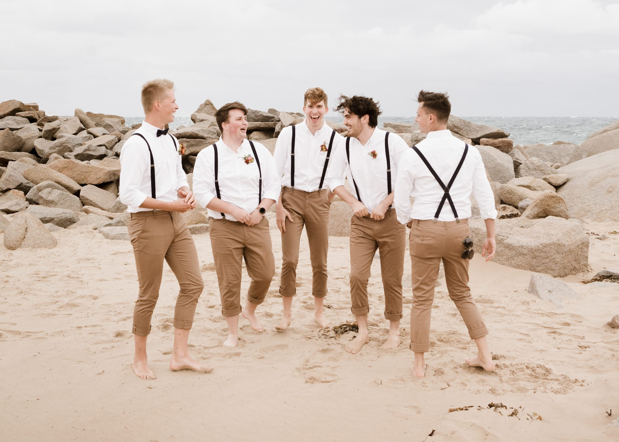 Groomsmen dressed by Connor