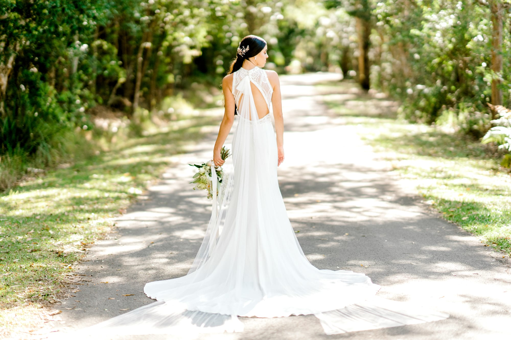 TAMESIS-Rosa-Clara-High-Neck-Low-Back-Wedding-Gown-White-Lily-Couture-Brisbane (11)
