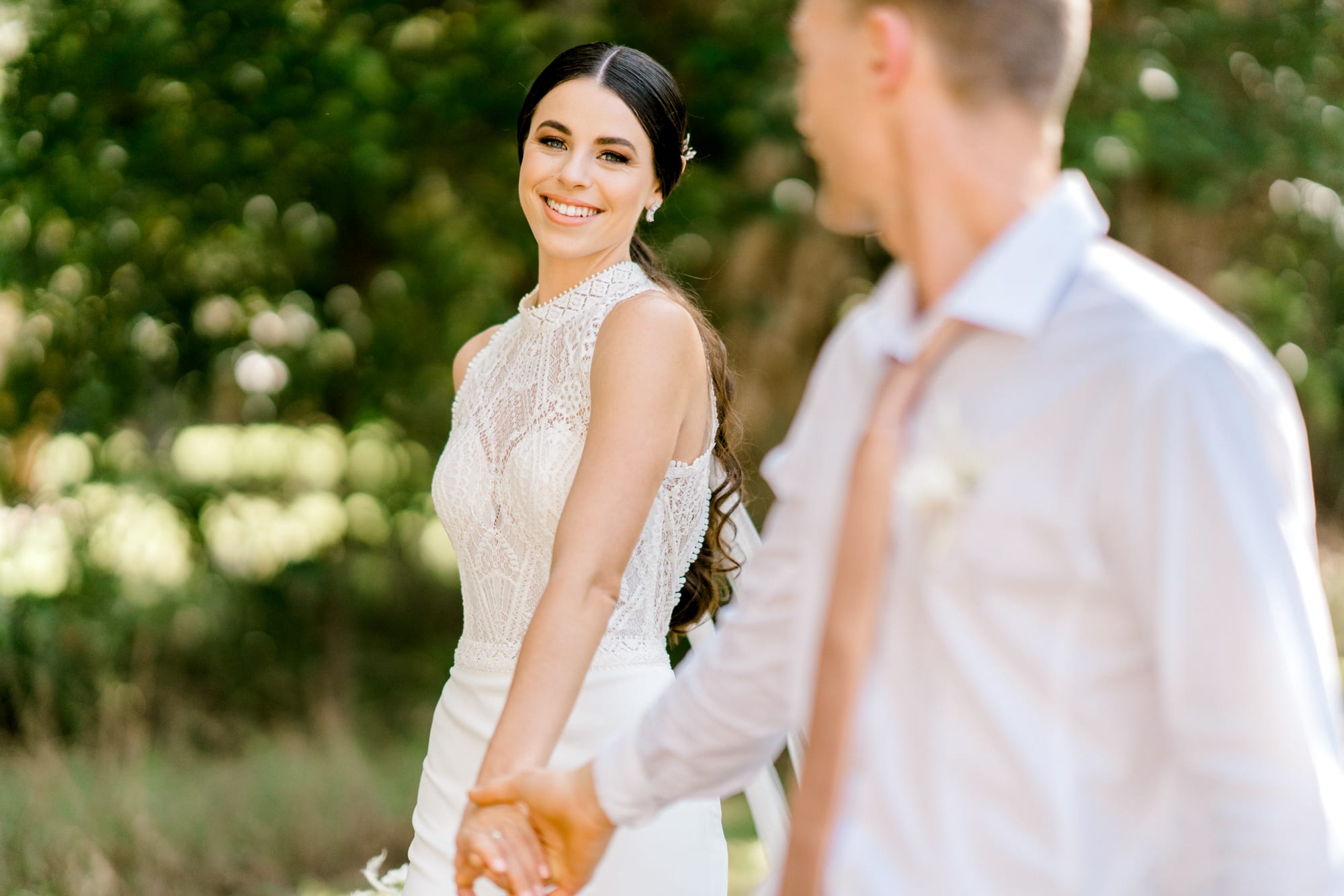 TAMESIS-Rosa-Clara-High-Neck-Low-Back-Wedding-Gown-White-Lily-Couture-Brisbane (16)