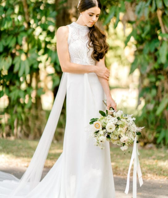 TAMESIS-Rosa-Clara-High-Neck-Low-Back-Wedding-Gown-White-Lily-Couture-Brisbane (17)