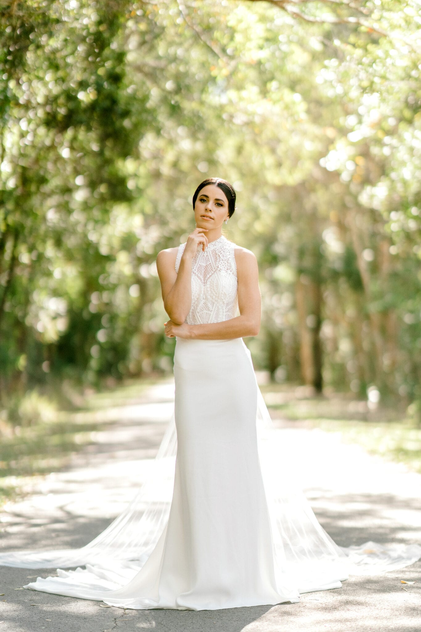 TAMESIS-Rosa-Clara-High-Neck-Low-Back-Wedding-Gown-White-Lily-Couture-Brisbane (18)