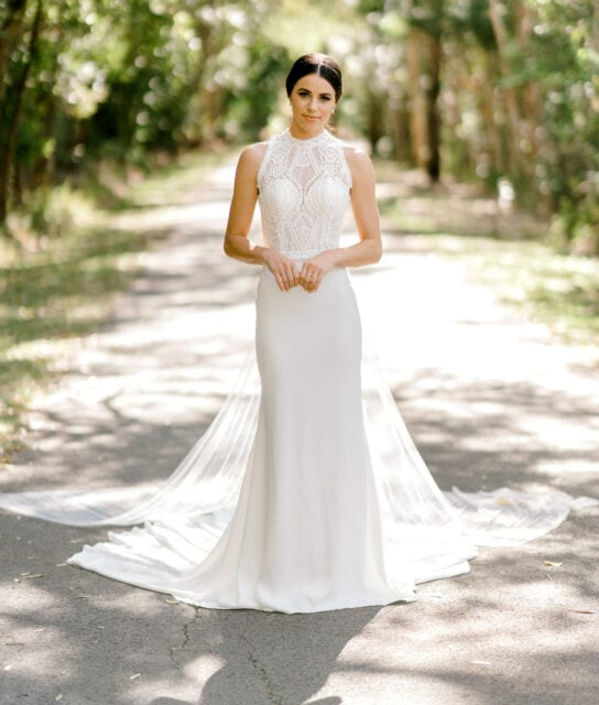 TAMESIS-Rosa-Clara-High-Neck-Low-Back-Wedding-Gown-White-Lily-Couture-Brisbane (2)