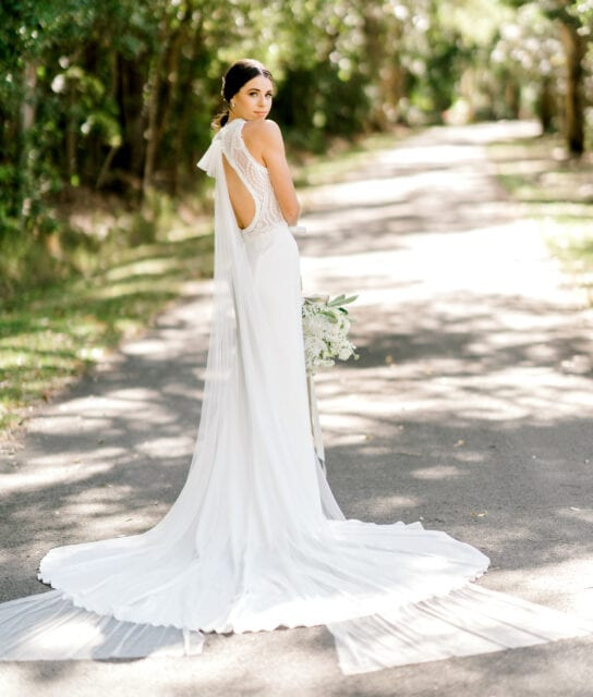 TAMESIS-Rosa-Clara-High-Neck-Low-Back-Wedding-Gown-White-Lily-Couture-Brisbane (4)