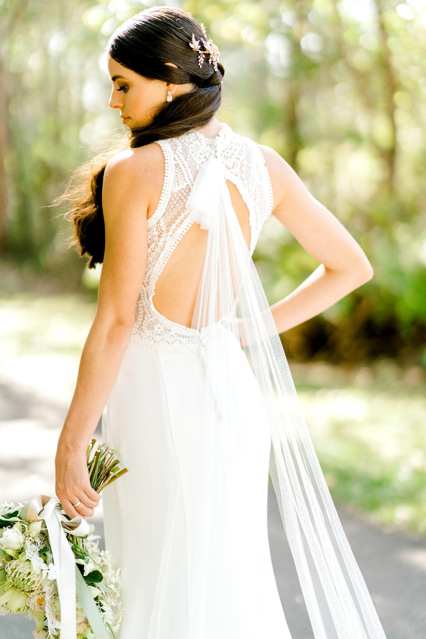 TAMESIS-Rosa-Clara-High-Neck-Low-Back-Wedding-Gown-White-Lily-Couture-Brisbane (5)