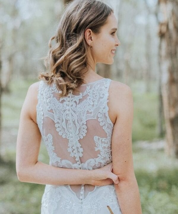 Pronovias Lace Wedding Dress Brisbane