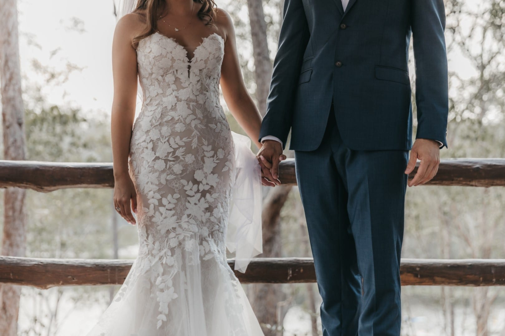 Julia wears Livie by Enzoani wedding dress