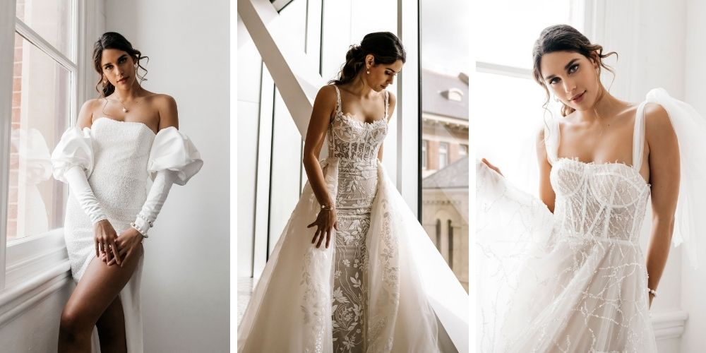 Zavana Couture Aurous Collection   Queensland Bridal White Lily Couture