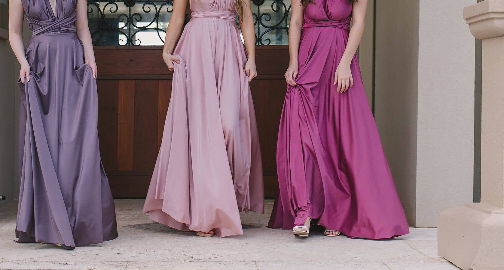 Goddess Signature Collection Bridesmaid - bridal couture brisbane - white lily couture