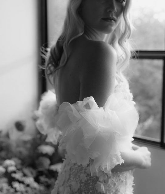 white lily couture wedding dress bright flowers brisbane (12)